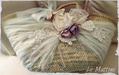 Le Mattine Diy Sac, Diy Tote Bag, Boho Bags, Creation Couture, Scarf Jewelry, Basket Bag, Cute Purses, Handmade Bags, Basket Weaving