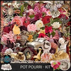 Daily Deal 70% off at #theStudio Collections :: P :: Pot Pourri by BooLand Designs & Fancy Bird Designs :: Pot Pourri Kit ‪#‎fancybirddesign‬ ‪#‎boolanddesigns‬