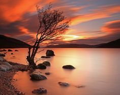From the shores of Loch Ness, Scottish Highlands..By Gordie Broon.,  A.G. Brown