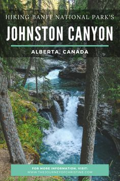 Hiking Johnston Canyon in Alberta's Banff National Park