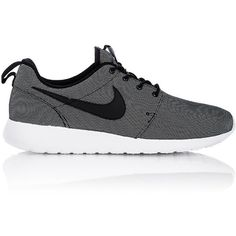 Nike Men's Roshe One Premium Sneakers ($85) ❤ liked on Polyvore featuring men's fashion, men's shoes, men's sneakers, shoes, men, grey, sneakers, mens mesh sneakers, mens lace up shoes and nike mens sneakers