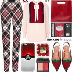 Fall Trend: Necktie Blouse