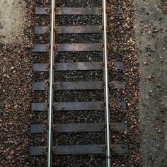 Train track, Finland.