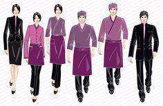 Salon spa uniform design singapore uniforms supplier for Spa uniform supplier in singapore
