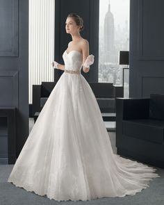 Dathybridal #プリンセスライン ハートカット ホール Aライン ブライダルドレス #ウェディングドレス Hro0130
