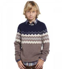 Brushed Fairisle Sweater