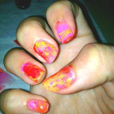 My first waternails