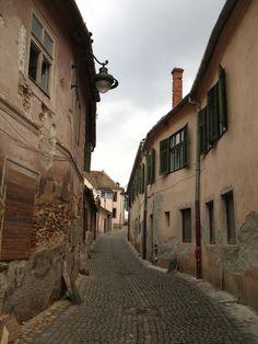 Sibiu, Hermannstadt in Romania. Beautiful city in the heart of Transylvania. Sibiu Romania, Street, City, Heart, Travel, Beautiful, Scenery, Viajes, Roads