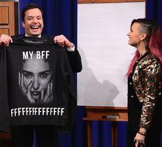 Demi Lovato / Jimmy Fallon