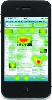iphone 5 eye tracking