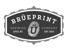 Brüeprint Brewing Company, Apex, NC. Happy-smiley umlaut. http://brueprint.com/
