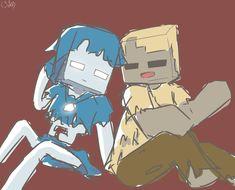 Minecraft Comics, Minecraft Drawings, Minecraft Pictures, Minecraft Anime, Minecraft Stuff, Monster School, Creepers, Sketch, Fandoms