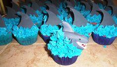 Shark!!! Cupcakes...