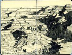 near geology museum | by paul heaston // sketchbook