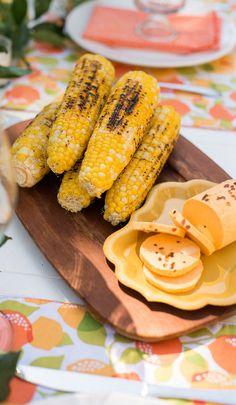 LP Summer Guide 2015- Charred Corn with Sriracha Butter Recipe
