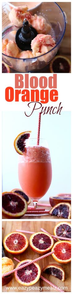 Blood orange punch is perfect for parties, BBQ's, or just for fun, and it is family friendly.