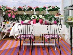 Balkóny a terasy jako z pohádky