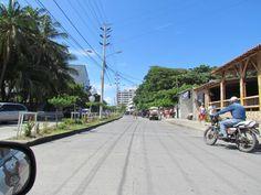Calles de San Andrés, Colombia.