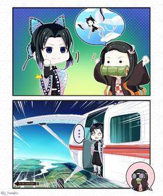 Nezuko e Shinobu - Kimetsu no Yaiba  Comic pt 1/2