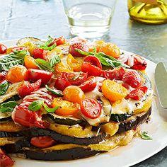 Smoky Grilled Vegetable Torte