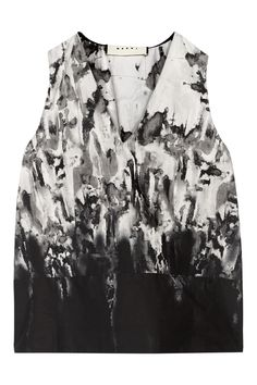 Marni - Printed cotton top