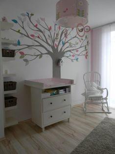 Baum Kinderzimmer 'Warten auf Madame Klitzeklein <3'