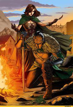 Dark Souls 2, Dark Souls, fandom, Emerald Herald, DSII characters, Bearer of the curse, DS art