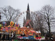 Edinburgh Christmas fair, Edinburgh, Scotland