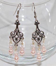 pretty in pink earings