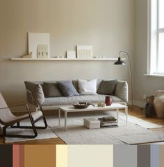 Colors & Design. Scandinavian home.