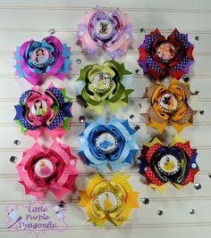 Complete Set Of 10 Princess Boutique Hair by LittlePurpleDragonfl, $60.00