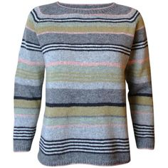 Smuk bluse i Coast - Ketty Conrad Pullover Sweaters, Men Sweater, Cardigans, Knitting Patterns, Crochet Patterns, Knitting For Charity, Facon, Stripes Design, Crochet Clothes