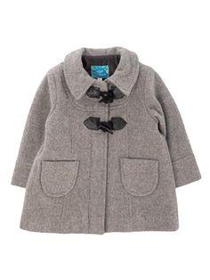 Adquiere Abrigo para Niña, color gris en www.bebitos.mx #abrigo #moda #infantil…