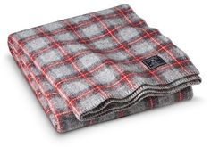 Faribault for Target Wool Throw - Ely Plaid