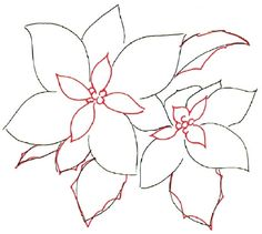 Learn how to draw a poinsettia and other flowers and plants with our simple instructions. Test your creative skills as you learn to draw a poinsettia. Watercolor Christmas Cards, Watercolor Cards, Watercolor Flowers, Watercolor Paintings, Watercolors, Christmas Paintings, Christmas Art, Xmas, You Draw