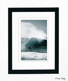 24x36 or smaller Surf Digital Painting FREE Shipping by Sensing Majesty - Rene' Comer