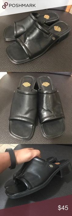 Harley Davidson Great condition. No offers Harley-Davidson Shoes Sandals