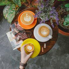 Coffee on the table, kalimera coffee salatiga