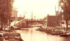 1885 Puente Iztacalco y Canal de la Viga Foto: William Henry Jackson