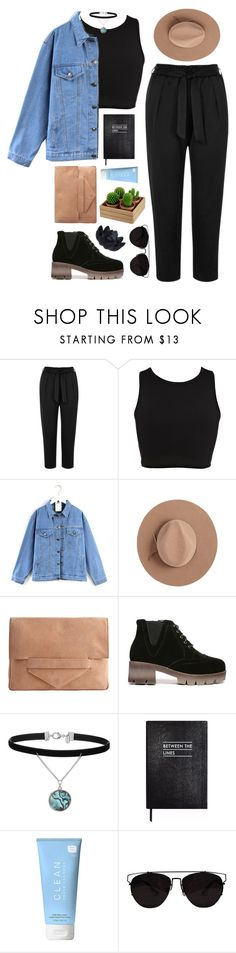 """""""#899"""" by maartinavg ❤ liked on Polyvore featuring River Island, Quintess, Calypso Private Label, Pieces, Miss Selfridge, Sloane Stationery, CLEAN and Sia"""