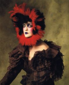 Model and Muse  Vogue US, July 2007  Caroline Trentini in John Galliano  by Irving Penn  this is like my favorite photo ever