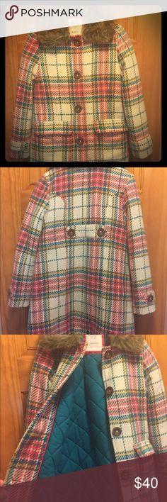 Girls mini Boden Very cute girls mini Boden wool coat size 7/8 Mini Boden Jackets & Coats Pea Coats