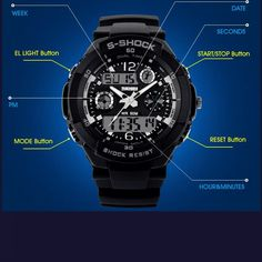 Skmei Sports Waterproof Quartz Man Watches Men Luxury Brand Mens watches  2015 S Shock Fashion G Led Digital Military Wristwatch-in Quartz Watches  from Watches on Aliexpress.com | Alibaba Group