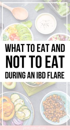 "One of the most common questions I get is: ""what should I eat during an IBD flare?"" and while every body truly is different, there are definitely foods I would avoid when in an IBD flare. Ulcerative Colitis Diet, Crohns Disease Diet, Crohn's Disease, Good Foods To Eat, Foods To Avoid, Ibs Foods To Eat, Ibs Flare Up, Ibd Diet, High Fat Foods"