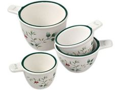 4-pc. Winterberry Measuring Cup Set by Pfaltzgraff at Cooking.com