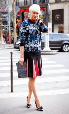 Elisa Nalin in Smart ColorBlocking #style #fashion