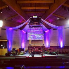Crown D Churchstagedesignideas Church Christmas Decorations Stage Backgrounds