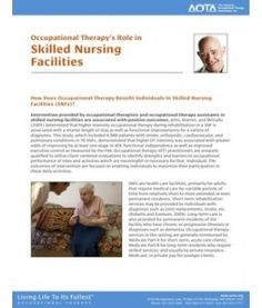 OT's role in Skilled Nursing Facilities