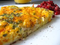 Since you will almost certainly have leftover turkey after Thanksgiving, here's how to transform it into brunch frittata! Thanksgiving Leftovers, Turkey Leftovers, Hangover Food, Turkey Chicken, Leftover Turkey, Baked Eggs, Frittata, Serving Dishes, Gluten Free Recipes