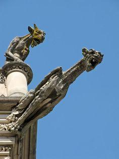 Gargoyles on Biltmore House roof